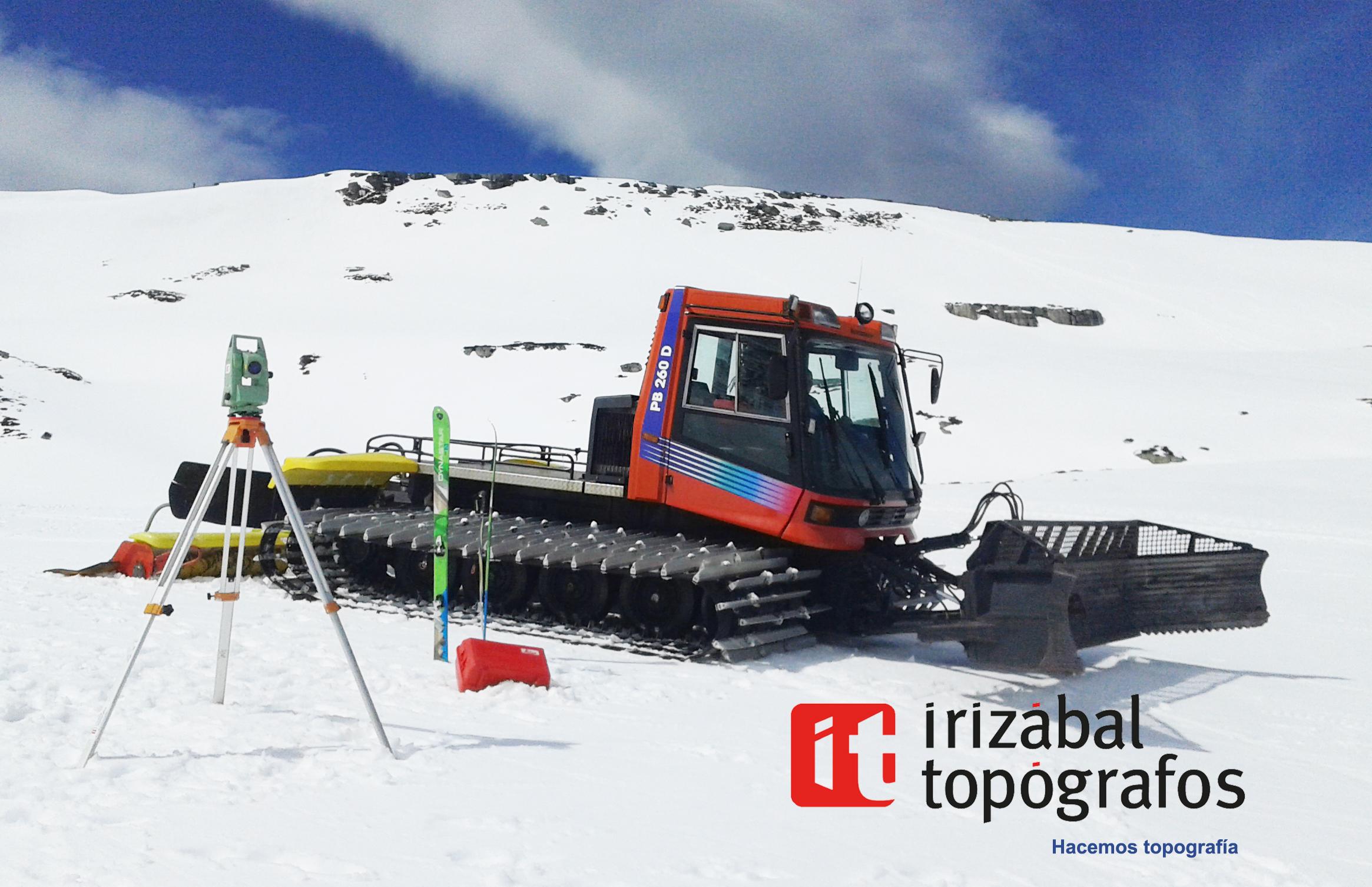 Estacion de esqui Hacemos topografia